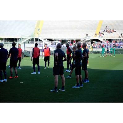 Allenamento Fiorentina nazionali