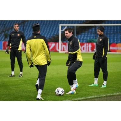 Allenamento calcio FC Barcelona portiere