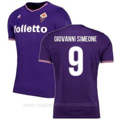 Maglia Home Fiorentina GIOVANNI SIMEONE