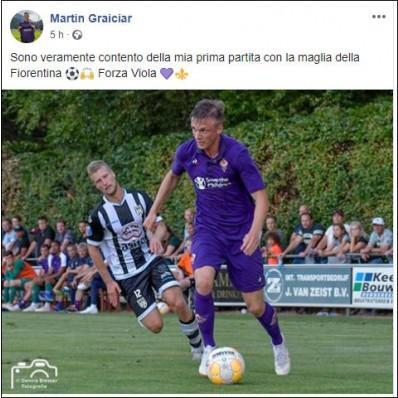 Maglia Home Fiorentina MARTIN GRAICIAR