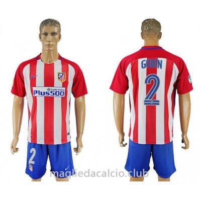 Seconda Maglia Atlético de Madrid Godín