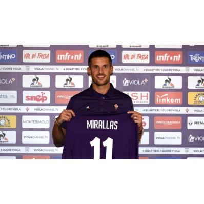 Seconda Maglia Fiorentina KEVIN MIRALLAS