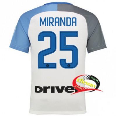 Seconda Maglia Inter Milan MIRANDA