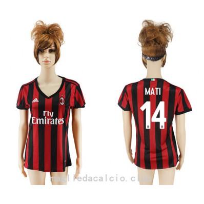 completo calcio AC Milan Donna