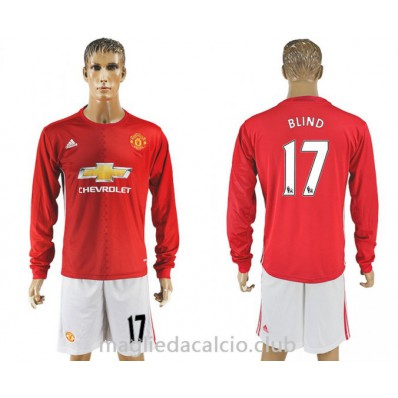 divisa calcio Manchester United sconto