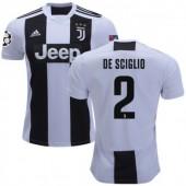 Maglia Home Juventus MATTIA DE SCIGLIO