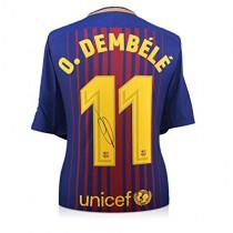 Maglia Home FC Barcelona O. Dembélé
